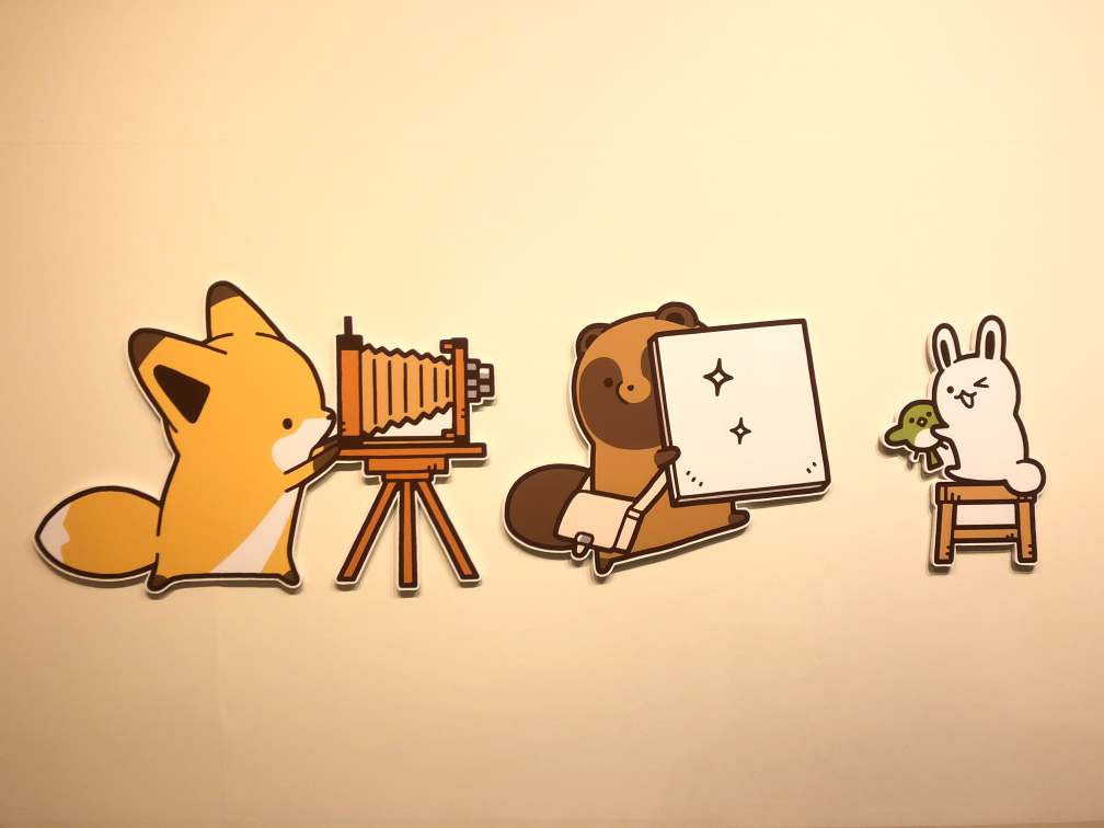 画像ありタヌキとキツネ展が超キュート池袋パルコで開催の展示会で癒